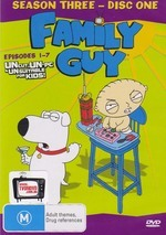 Family Guy Season 3 Disc 1     		 on DVD