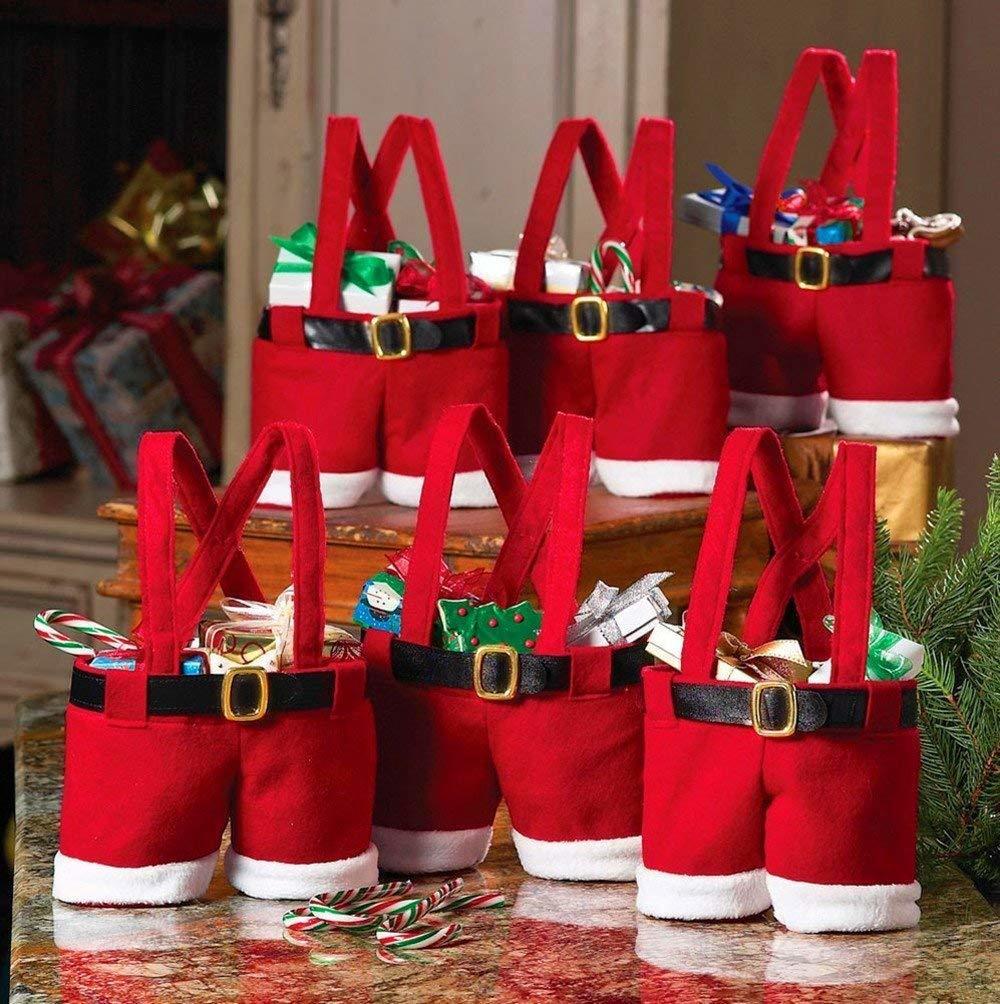 Gorilla Gift: Santa Claus Christmas Pants Gift Bag image