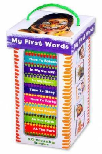 Book Tower: My First Words (Stripey Ant Edition)