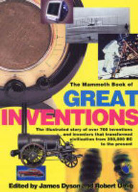 The Mammoth Book of Great Inventions by James Dyson image