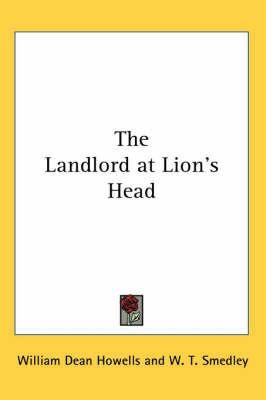 The Landlord at Lion's Head by William Dean Howells image