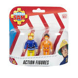 Fireman Sam Figure Pack - Quad Bike Sam & Pilot Tom