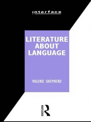 Literature About Language by Valerie Shepard image