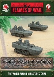 Flames of War: Type 2 Ka-Mi Platoon