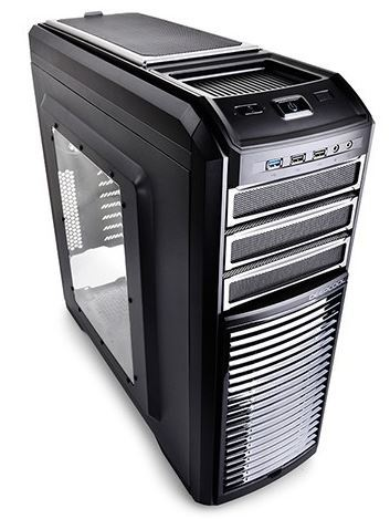 Deepcool Kendomen TI Mid-Tower Case - Titianium (5 Fans Pre-Installed)