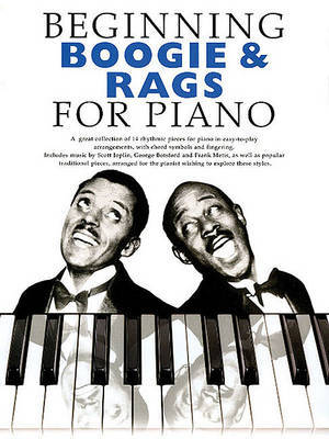 Beginning Boogie And Rags For Piano by Music Sales