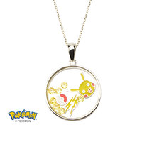 Pokemon Pikachu Sterling Silver Shaker Necklace