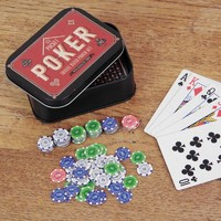 Pocket Poker Travel Tin