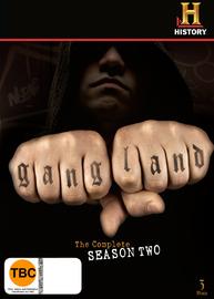 Gangland - Season 2 (3 Disc Set) on DVD