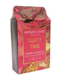 Morgan & Grace Face Pamper Packs - Party Time (Rosehip & Almond)
