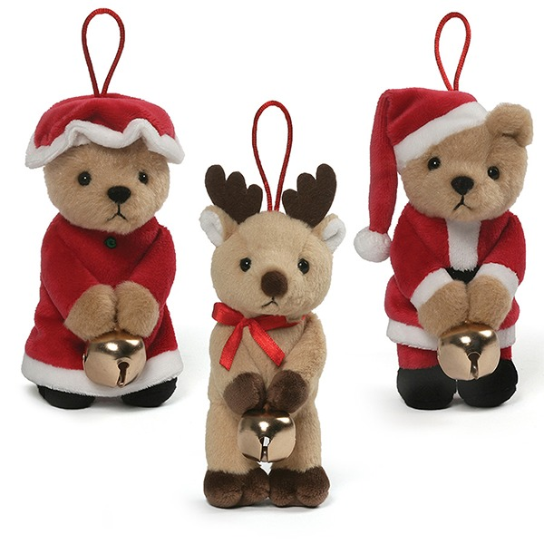 Gund Plush Jingle Ornament