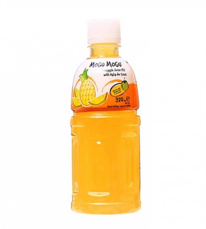 Mogu Mogu Pineapple Flavored Drink 320ml image