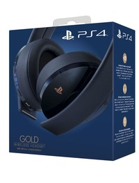 PlayStation Gold 500 Million Limited Edition Gaming Headset for PS4
