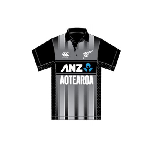 BLACKCAPS Replica Aotearoa T20 Shirt (X-Large)