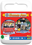 Fireman Sam - Tricky Day / Treasure Hunt DVD