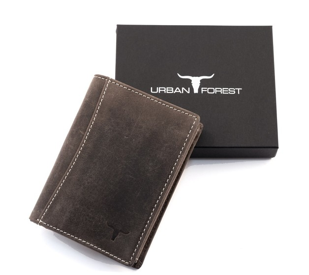 Urban Forest: Sundance Leather Wallet - Taupe
