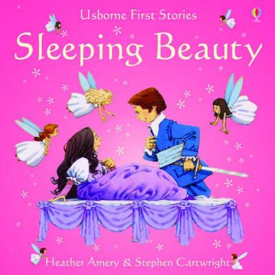 Usborne Fairytale Sticker Stories Sleeping Beauty by Heather Amery image