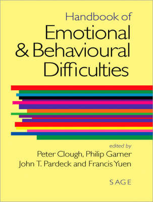Handbook of Emotional and Behavioural Difficulties image