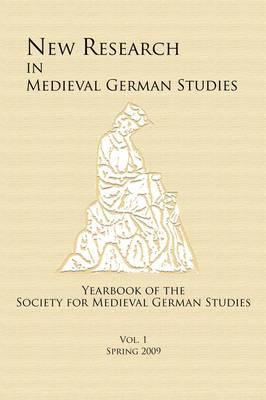 New Research in Medieval German Studies image