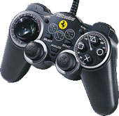 360 Modena Analog Gamepad (Black) for PS2