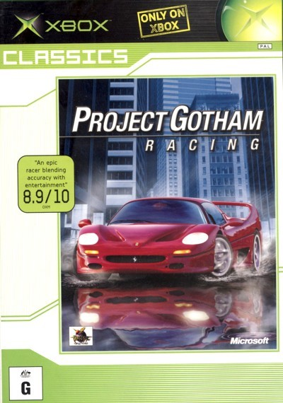 Project Gotham Racing for Xbox
