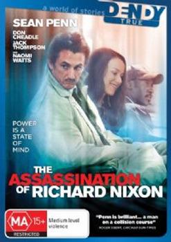 The Assassination Of Richard Nixon on DVD