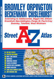 Bromley Street Atlas by Geographers A-Z Map Company