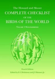 The Howard and Moore Complete Checklist of Birds of the World