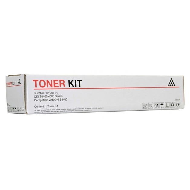 Icon Compatible OKI B4400 Black Toner Cartridge