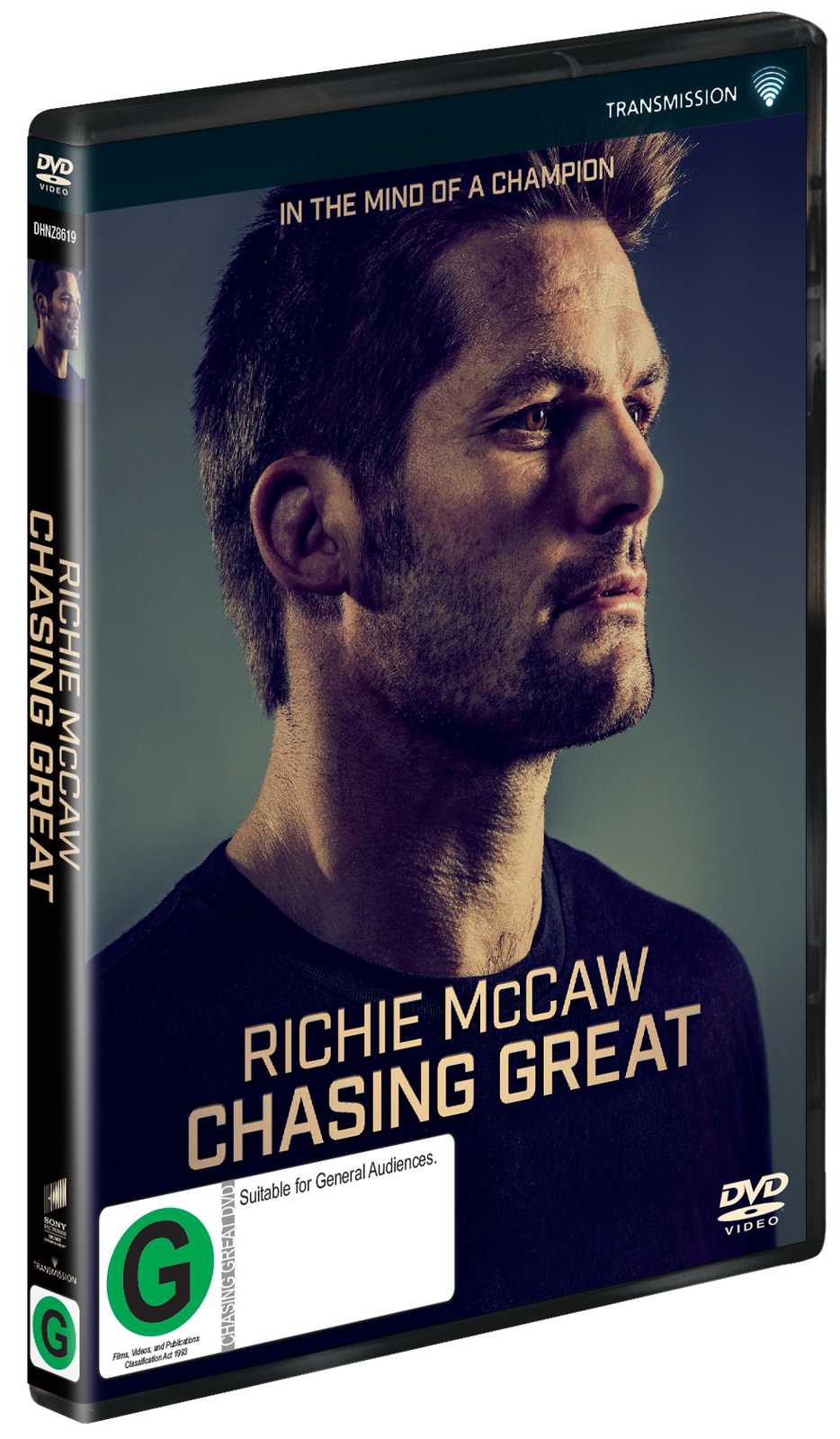 Richie McCaw: Chasing Great on DVD image