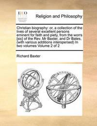 Christian Biography by Richard Baxter