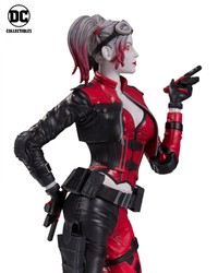 Injustice 2 - Harley Quinn Red White Black Statue image