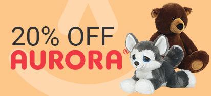 20% off Aurora