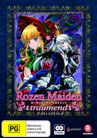 Rozen Maiden - Traumend Collection (2 Disc Set) on DVD image