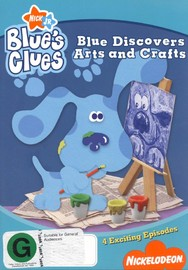 Blue's Clues - Arts & Crafts on DVD image