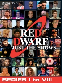 Red Dwarf Just The Shows Series 1-8 Box Set on DVD