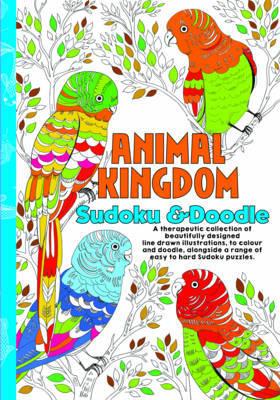 Colouring & Sudoku Animal King image