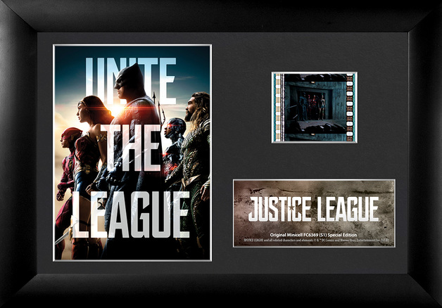 FilmCells: Mini-Cell Frame - Justice League (Unite the League)