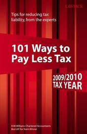 101 Ways to Pay Less Tax: 2009/2010 image