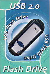USB 2.0 128MB Flash Drive image