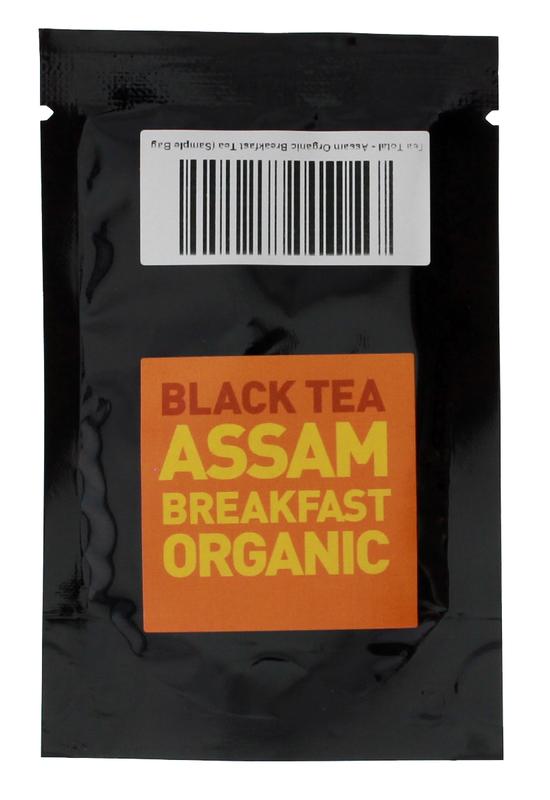 Tea Total - Assam Organic Breakfast Tea (Sample Bag)