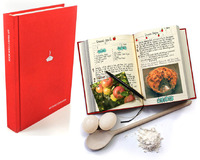 My Family Cookbook Recipe Journal (Red)