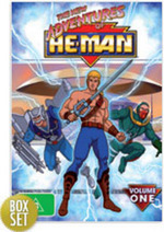 New Adventures Of He-Man, The - Vol. 1 (6 Disc Box Set) on DVD