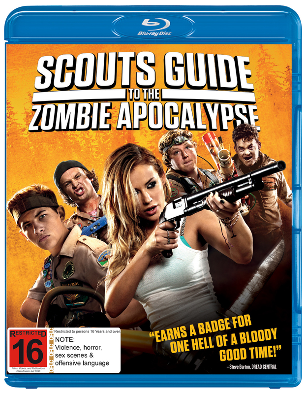 Scouts Guide to the Zombie Apocolypse on Blu-ray