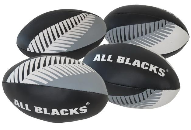 NZRU: AB Rugby Ball Youth Plush