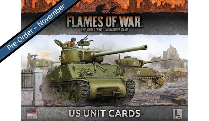 Flames of War: US Unit Cards (Late War) image