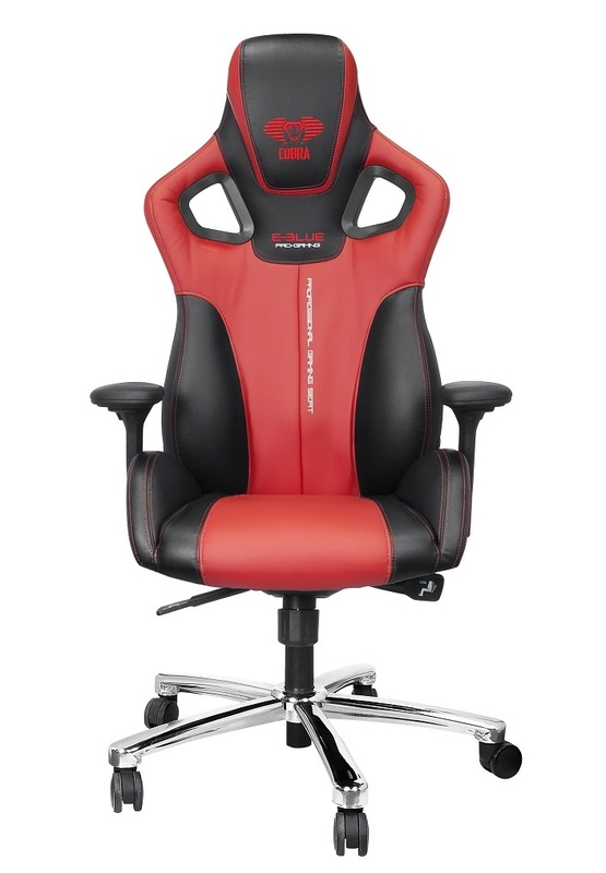 E-Blue Cobra Gaming Chair (Red) for