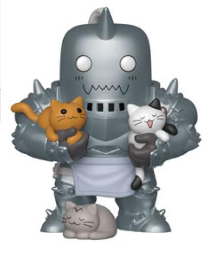 Fullmetal Alchemist - Alphonse Elric (with Kittens) Pop! Vinyl Figure image