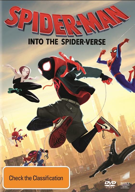 Spider-Man: Into the Spider-Verse on DVD