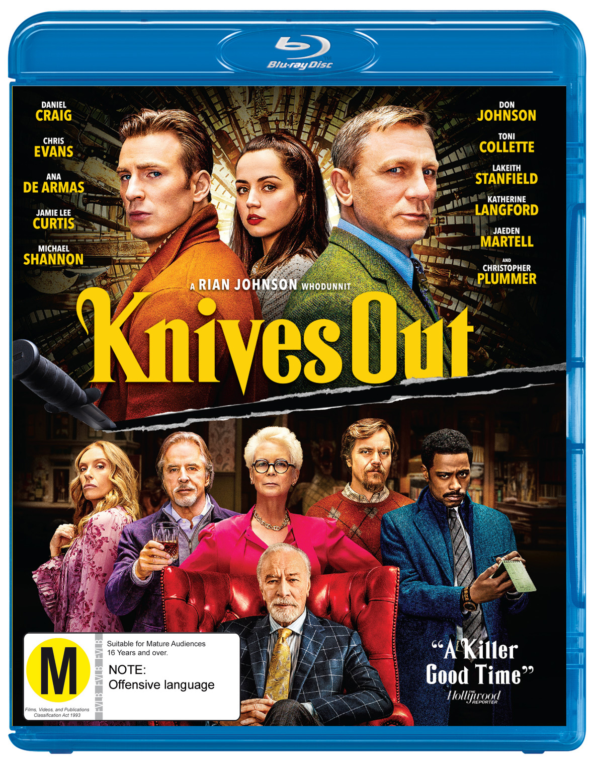 Knives Out on Blu-ray image